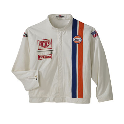 Steve Mcqueen Le Mans White Racing Jacket