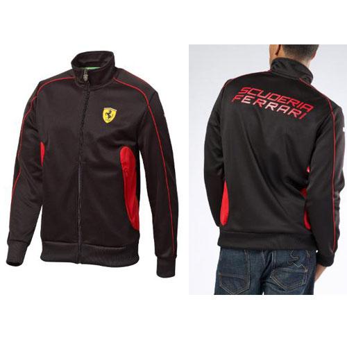 puma ferrari red track jacket fr8422 newsonf1 usa. Black Bedroom Furniture Sets. Home Design Ideas