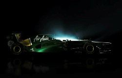 The 2012 Caterham CT01 (launched 26 January 2012)
