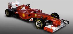 The 2012 Ferrari F2012 (launched 3 February 2012)