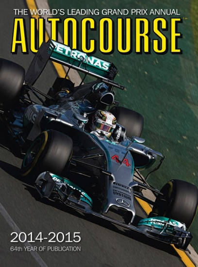 Autocourse Formula 1 2014 Review Book