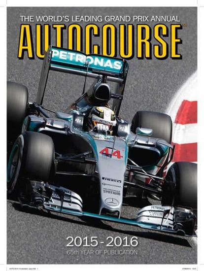 Autocourse F1 2015 Review Book