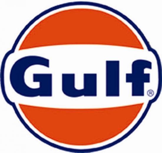 Gulf Oil Race Team Sticker