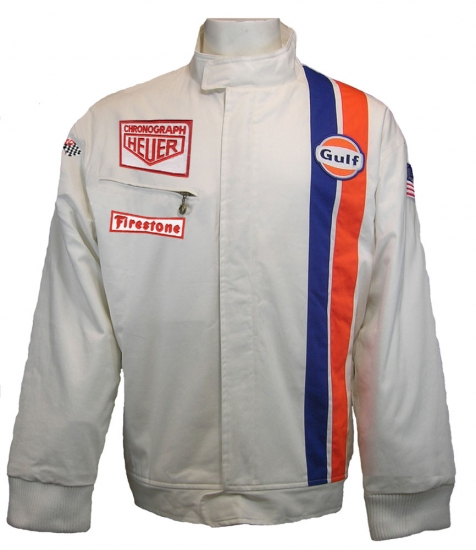 Gulf Le Mans White Racing Jacket