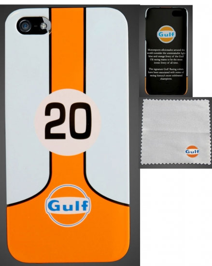 Gulf by SUPERSTRADA Le Mans iPhone 5/5S Hard Case