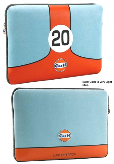 Gulf Le Mans Computer Laptop Sleeve