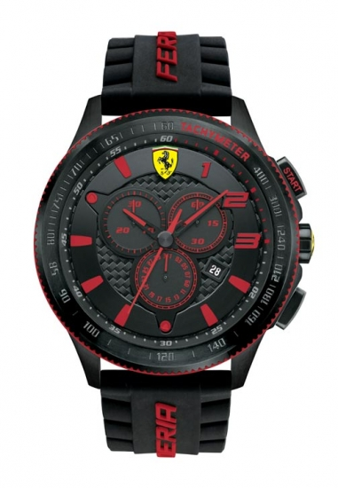 Ferrari Scuderia XX Chronograph Black/Red Watch