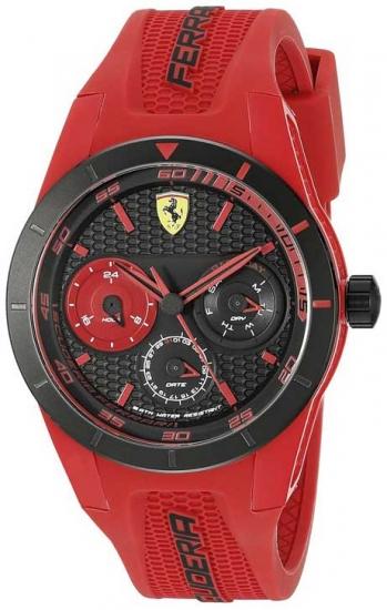 Ferrari Red RevT Red Chronograph