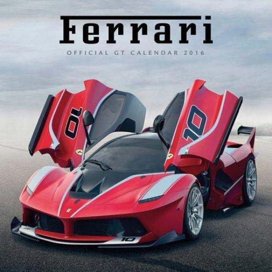 2016 Ferrari GT Calendar