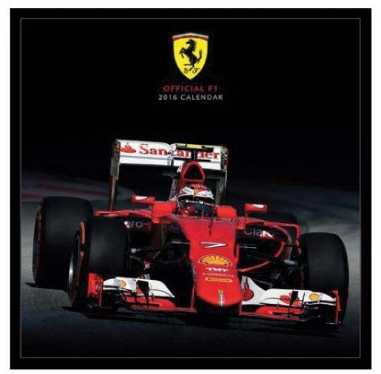 2016 Ferrari Formula 1 Calendar