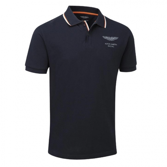 Aston Martin Racing Navy Logo Polo