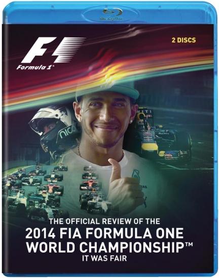2014 Formula 1 Review Blu Ray