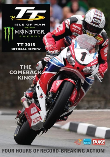 Isle of Man TT Official Review 2015 DVD