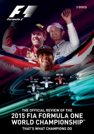 2015 Formula 1 Review DVD