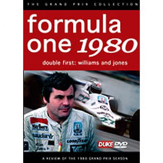 Formula 1 Review 1980 DVD