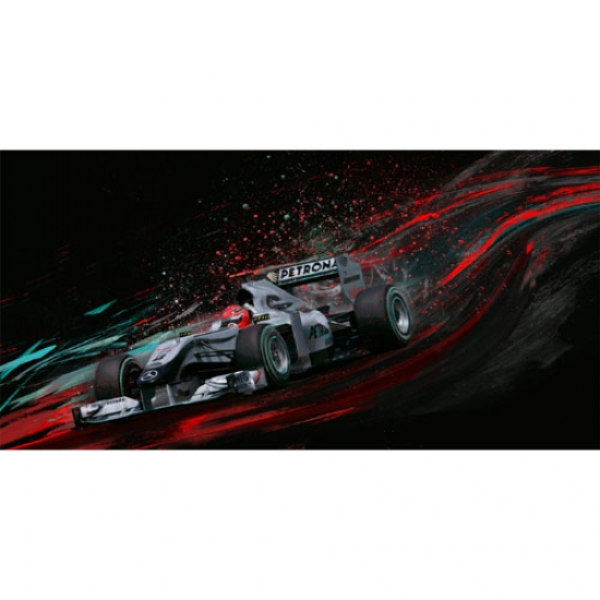 Hot Schu Michael Schumacher Canvas Print