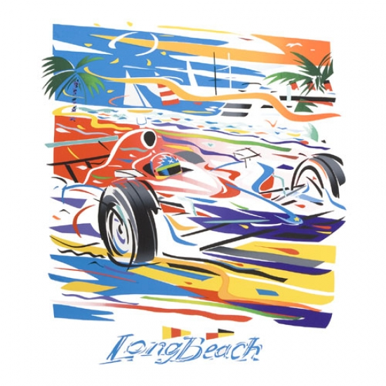 Long Beach 2009 Serigraph