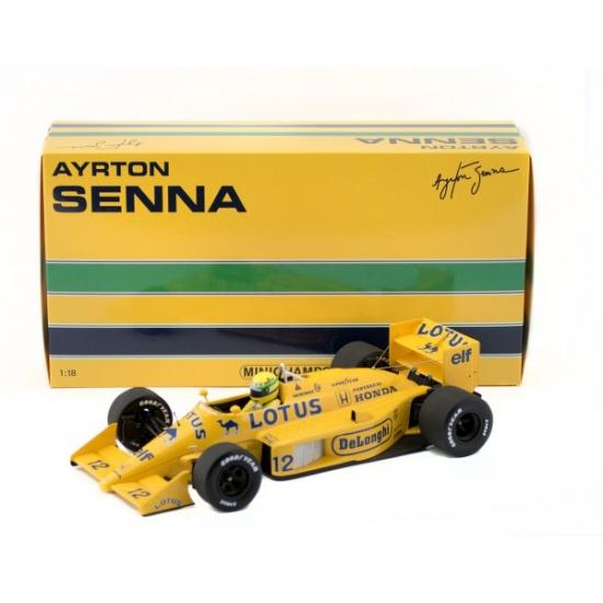 Lotus 99T Ayrton Senna 1987 1:18th