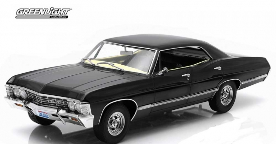 Supernatural 1967 Chevy Impala Sport 1:18th