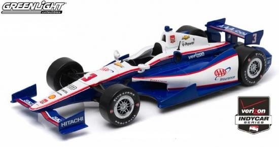 Helio Castroneves Penske Racing AAA #3 IndyCar 1:18th