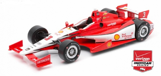Helio Castroneves Penske Racing Shell #3 IndyCar 1:18th