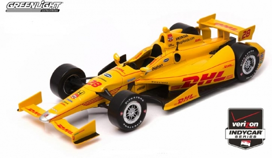 Ryan Hunter-Reay Andretti Autosport DHL #28 IndyCar 1:18th