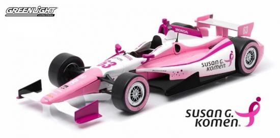 Pippa Mann Dale Coyne Racing Susan G. Komen Indy 1:18th