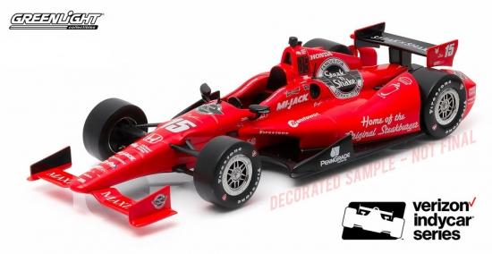 Graham Rahal Newman Letterman Lanigan IndyCar 1:18th