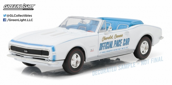 1967 Chevy Camaro Indy 500 Pace Car 1:24th