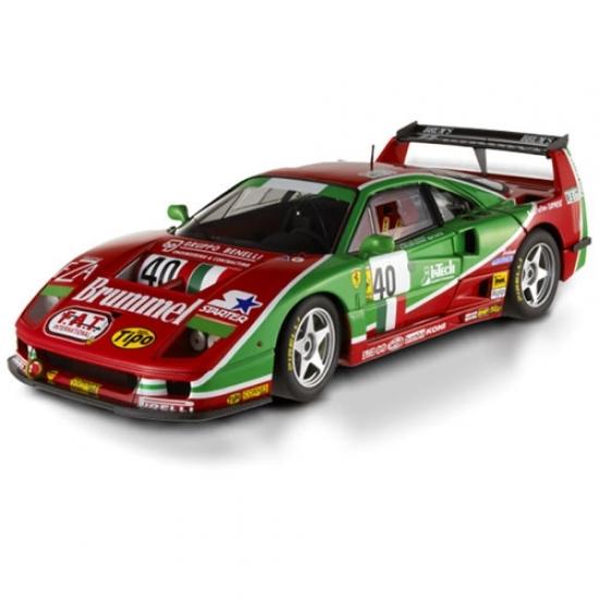 Ferrari F40 Competizione 1995 24hr Le Mans #40 Hotwheels Elite 1:18th