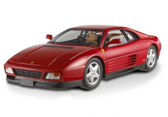 Ferrari 348TB 1989 Red Hotwheels Elite 1:18th