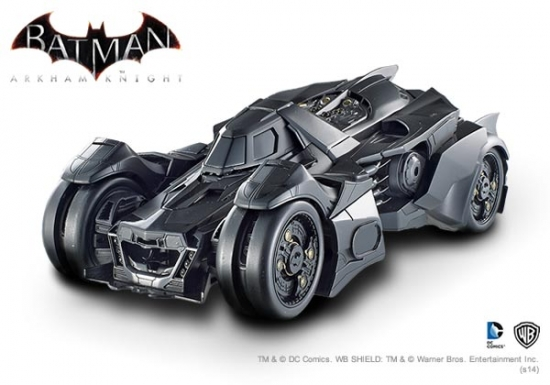 Batman Arkham Knight Batmobile 1:18th Hotwheels Elite