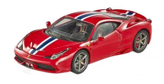 Ferrari 458 Speciale Red Hotwheels Elite 1:43rd
