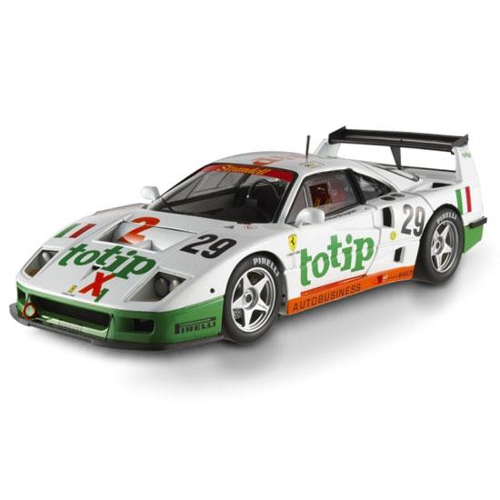 Ferrari F40 Competizione 24hr Le Mans 1994 Hotwheels Elite 1:18th