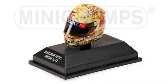 Sebastian Vettel Redbull Racing Austin Grand Prix 1:8th Helmet