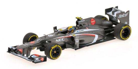 Sauber F1 Esteban Gutierrez 2013 Showcar Minichamps