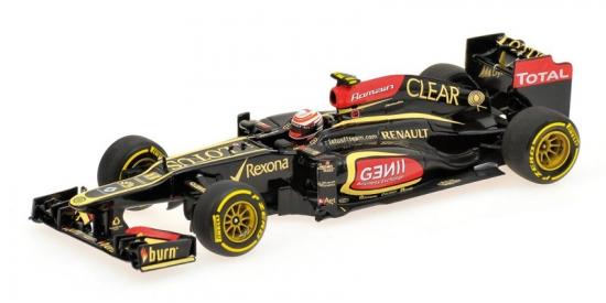 Romain Grosjean Lotus F1 Renault 2013 Minichamps