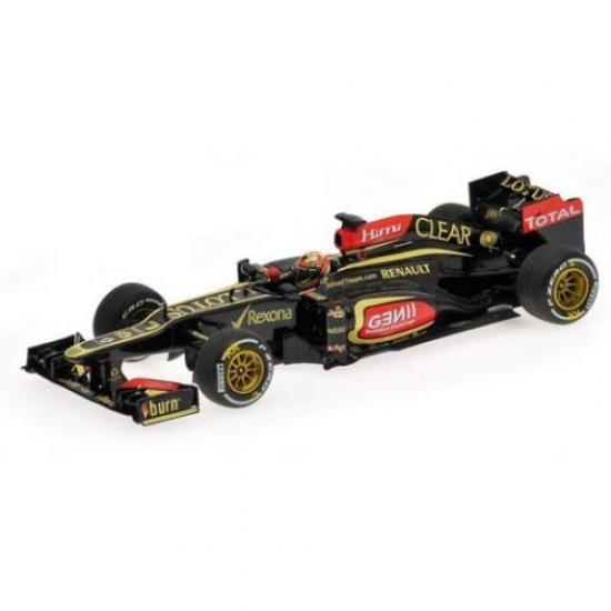 Kimi Raikkonen Lotus E21 Australian GP Winner 2013