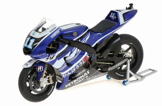 Ben Spies Yamaha YZR-M1 Moto GP 2011 Bike
