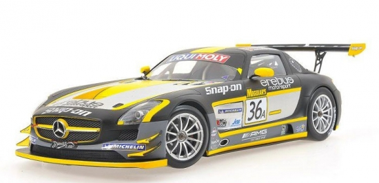 Mercedes-Benz SLS AMG GT3 Winner Bathurst 12 Hours 2013 1:18th