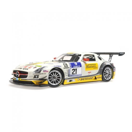 Mercedes Benz SLS AMG GT3 Rowe Racing 1:18th Minichamps