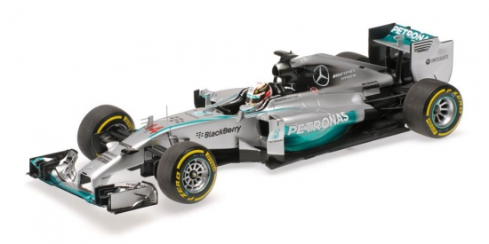 1:18th Lewis Hamilton Mercedes AMG Abu Dhabi Winner 2014
