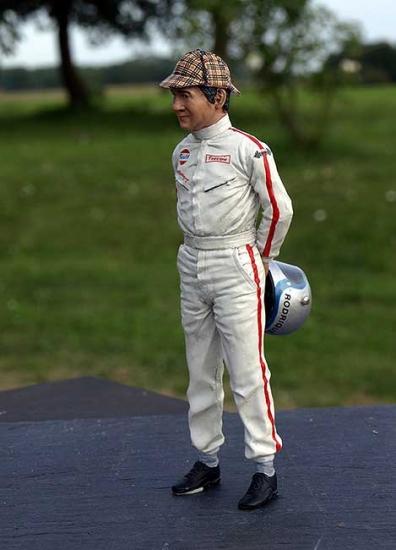 Pedo Rodriguez 1970 Le Mans Figurine 1:18th