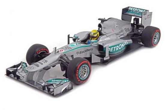 Nico Rosberg Mercedes AMG W04 Monaco Winner 2013