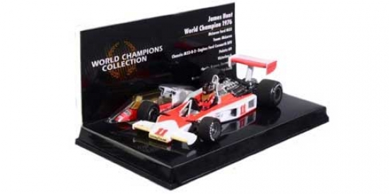 1:43rd James Hunt McLaren Ford M23 1976