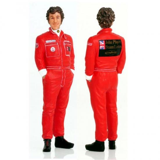 Mario Andretti Team Lotus F1 1977 Figurine 1:18th True Scale