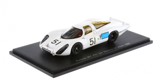 Porsche 907 Daytona 24hrs #51 Spark 1:43rd Model