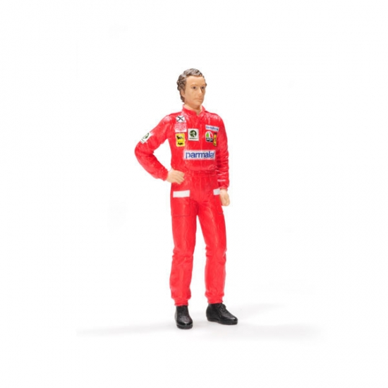 Niki Lauda Ferrari 1976 Figurine 1:18th Scale