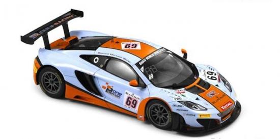 McLaren 12C GT3 Gulf Racing #69 Spark 1:18th