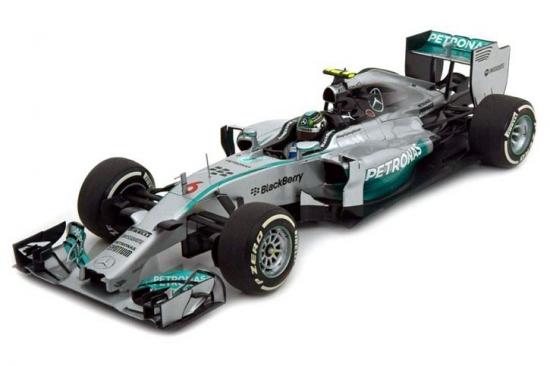 Mercedes AMG Petronas Nico Rosberg 2014 Spark